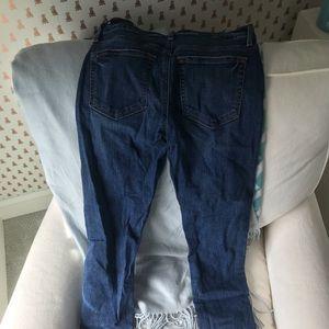 Loft skinny jeans, medium wash